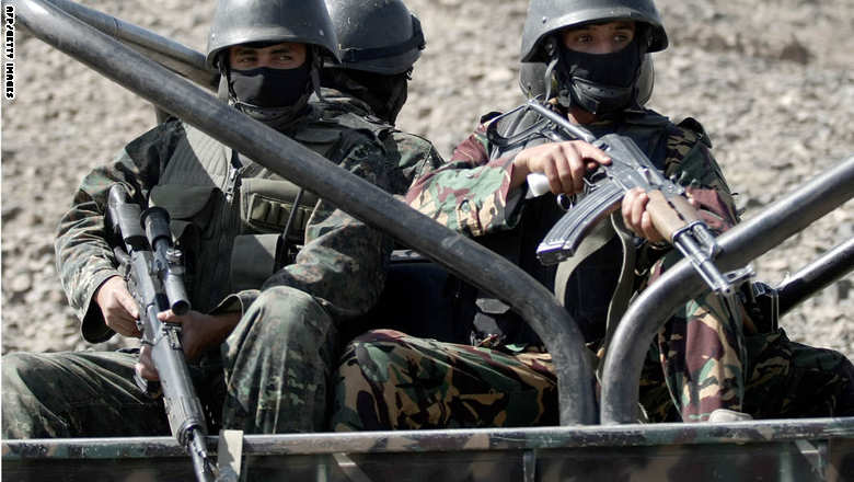 Yemeni special anti-terror forces show t